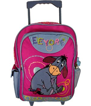 Disney Eeyore Large Roller Backpack Luggage (AZ6339)