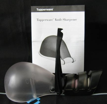 Tupperware Tabletop Knife Sharpener Rare