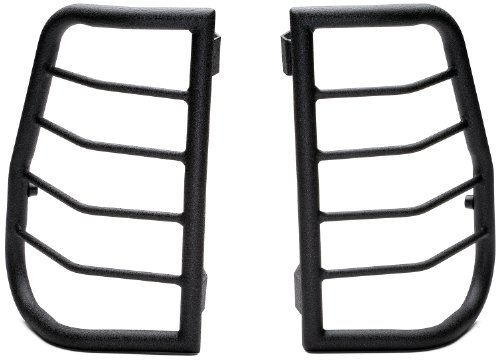 Body Armor 4x4 TN-7135 Black - SteelLarge Tail Light Guard for 2000-2003 Toyota Tundra (Pair)