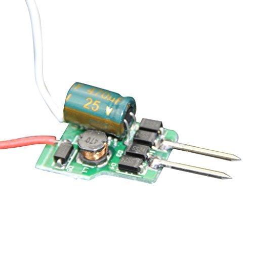 Generic (4-7)X1W 300Ma Mr16 Led Driver Transformer Dc 12V To Dc 12-24V Output For Led Spotlight Pack Of 20 Pieces
