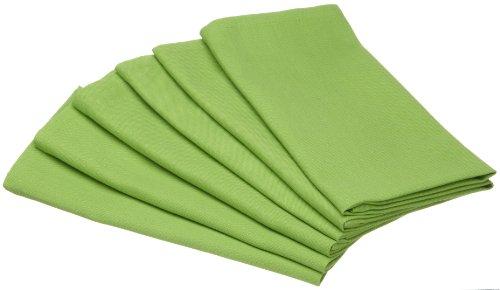DII Juicy Watermelon Cloth Napkins, Lime Zest, Set of 6