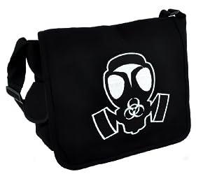 Gas Mask School Messenger Bag Zombie Apocalypse