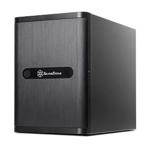 SilverStone NAS/RAID向けPCケース HDD最大12基搭載可能 SST-DS380