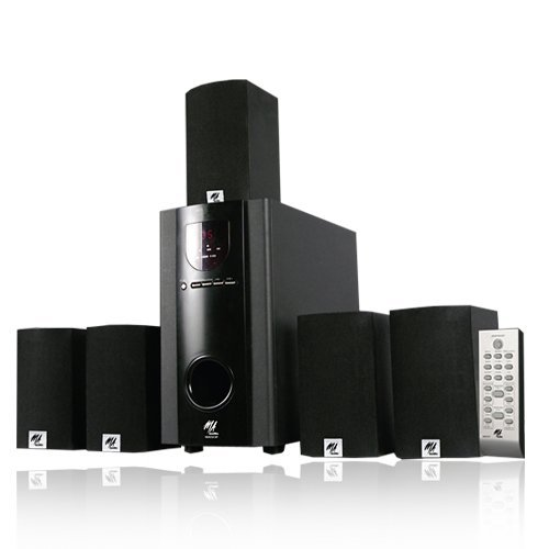 Ma Audio Ma5137 Surround Sound 700W 5.1 Home Theater Multimedia Speaker System With Bluetooth Ma5137B