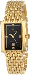Titan Regalia Analog Black Dial Mens Watch - NE1927YM06