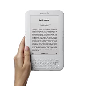 "Kindle Keyboard 3G, Free 3G + Wi-Fi, 6"" E Ink Display - includes Special Offers & Sponsored Screensavers"