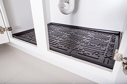 under sink cabinet mat bathroom cabinet depth drip tray liner