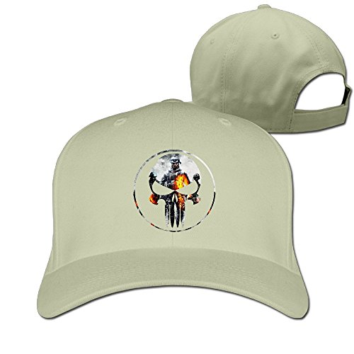 Custom Geek Unisex-Adult Game Logo Skull Hip Hop Hats Caps Natural (Hotel Transylvania 3ds Game compare prices)