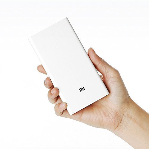 Xiaomi Power Bank 20000mAh Dual USB Port External Battery Charger Pack Portable Charger for iPhone 6s 6 Plus 5s 5,iPad Air,Mini,Samsung Galaxy,LG,Google,HTC,MP4,MP3,Cell Phones,Tablets - White Color (Iphone 5 Color Conversion compare prices)