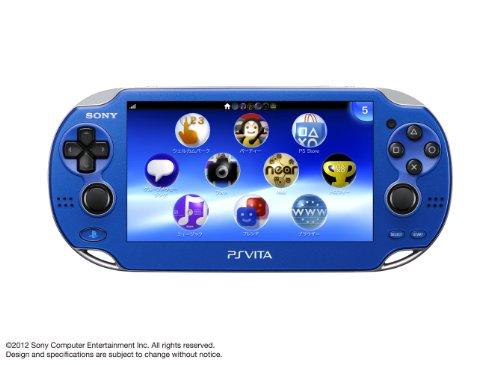PlayStationVita Wi-Fiモデル サファイア・ブルー (PCH-1000 ZA04)