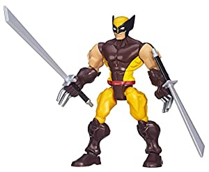 Marvel Avengers Super Hero Mashers Wolverine Figure
