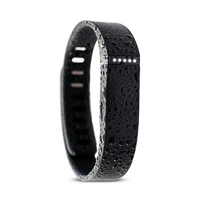 Waterfi Waterproofed Fitbit Flex Wireless Activity Tracker, Black