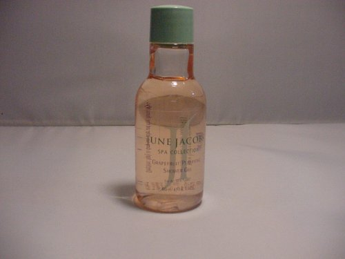 June Jacobs Grapefruit Purifying Shower Gel Lot Of 6 Each 1.8Oz Bottles. Total Of 10.8Oz