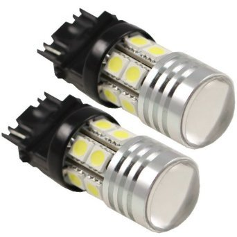 Cutequeen Trading 2Pcs 1156 1156 S25 Ba15S P21W 7506 7W Cree With Projector With 12-Smd Replacement Light Bulbs 3056 3356 3456 (Pack Of 2)