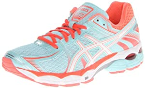 ASICS Women's GEL-Flux Running Shoe,Glacier/White/Hot Coral,8.5 M US