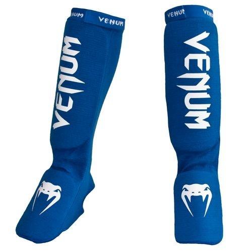 Venum Contact Shin Instep Guards Blue