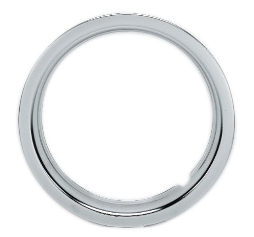 "Custom Accessories 48889 15"" Trim Ring with Sleeve, (Set of 4)"