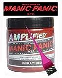 Manic Panic Amplified Hair Dye - Vegan Hair Dye - Infra Red & Pink Tint Brush