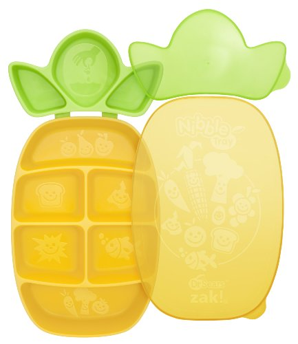 Dr. Sears Nibble Tray, Yellow/Green, 12 Months