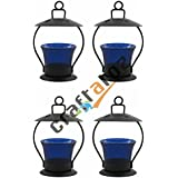 Christmas Gift Home Decorative Tealight / Candle Light ( Blue ) Pack Of 4