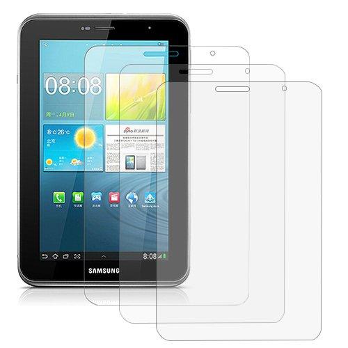 3 x sitengle Folie Displayschutzfolie Schutzfolie f¨¹r Samsung Galaxy Tab 2 7.0 P3110 / P3100 / P3113 in kristallklare