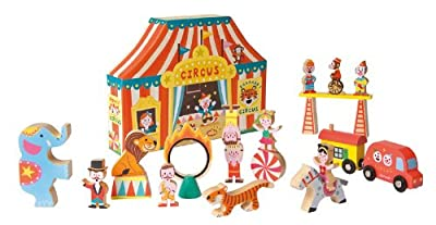 Janod Story Box Circus from Juratoys
