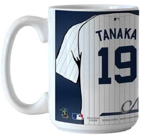 Boelter MLB New York Yankees Baseball No.19 Masahiro Tanaka Jersey Coffee Mug