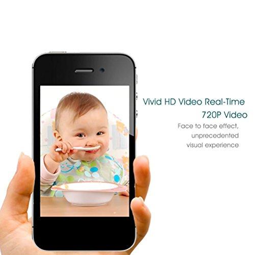 sancc 720p security ip camera home surveillance camera wireless wifi ip camera baby monitor. Black Bedroom Furniture Sets. Home Design Ideas