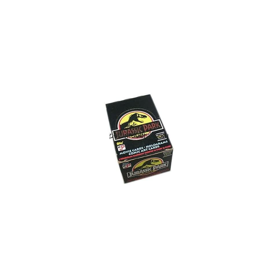Jurassic Park Gold Trading Cards Box