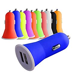 2.1 AMP high Speed Dual Port Universal Car Charger For Apple iPhone 4 / 4s