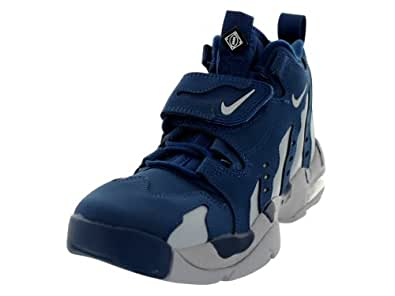 Nike Air DT Max 96 Men's High Top Sneakers (8.5, Brave Blue/Wolf Grey)