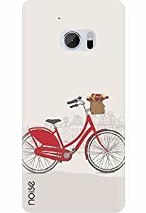 Noise Designer Printed Case / Cover for HTC 10 / Vintage / Go Cycle