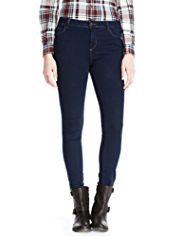 Indigo Collection Washed Look Jeggings