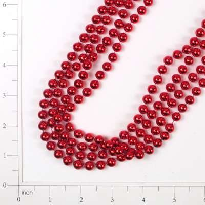 Bead Garland Chirstmas Accent - 8mm x 9' - Red (Expo International, Inc)