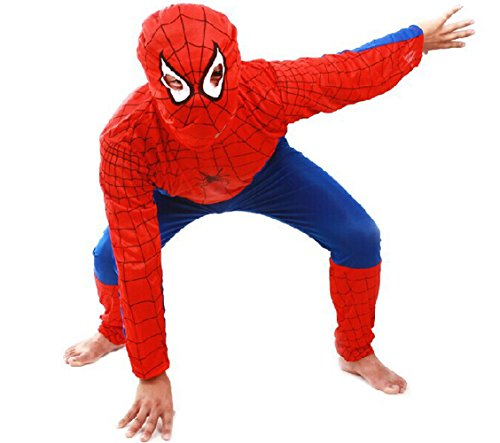 Sixkiss Child Spider-man Costume