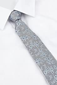 Autograph Pure Silk Floral Embroidered Tie [T12-5926-S]