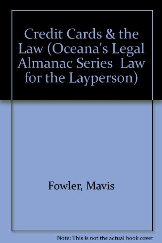 Credit Cards & the Law (Oceana's Legal Almanac Series  Law for the Layperson)