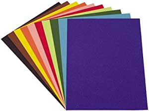 Papier Dessin Couleur Assorti 21x29,7 120g - Paquet De 100 [Jouet]