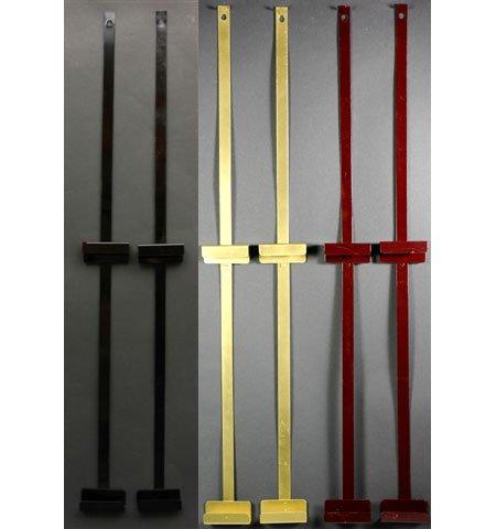 Asian Art & Decor - Wall Mount Hardware Brackets for 18