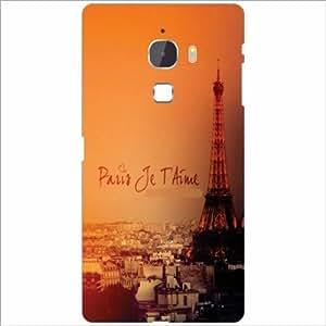 Letv Le Max Back Cover - Paris Time Designer Cases