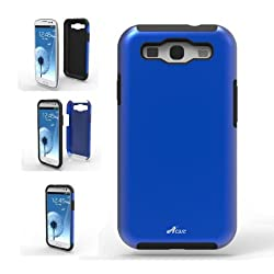 Acase Samsung Galaxy S3 case - Superleggera PRO Dual Layer Protection (Blue/Black) (Fits AT&T, Sprint, T-Mobile and Verizon)