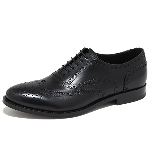 4211N scarpa uomo J. WILTON nero shoes man [43.5]