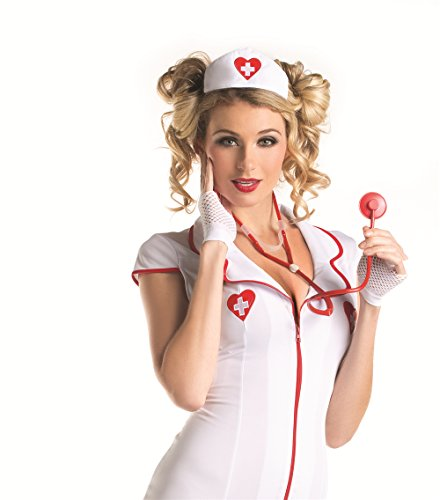 Nurse Hat And Stethoscope Set Costumes Cosplay Accessories