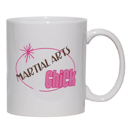 MARTIAL ARTS Chick Mug for Coffee / Hot Beverage (choice of sizes and colors)
