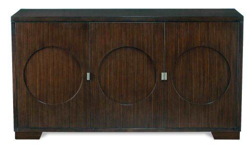 Cheap Circle Buffet by Brownstone – Ebony Finish (WS305) (WS305)
