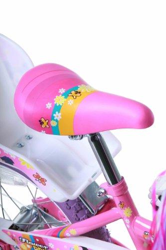Titan Girl's Flower Princess BMX Bike, Pink, 16-Inch 6