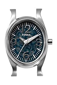 Fossil Damenuhr Armbanduhr Watch-Bar mit Edelstahlgehäuse und QuarzuhrwerkWB1060