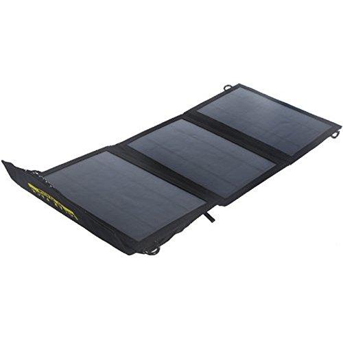 TOOGOO(R) 10W Panneau solaire Alimentation USB Chargeur de batterie universel pour iPhone Samsung Smartphones Portable Electronique Camping Pliable