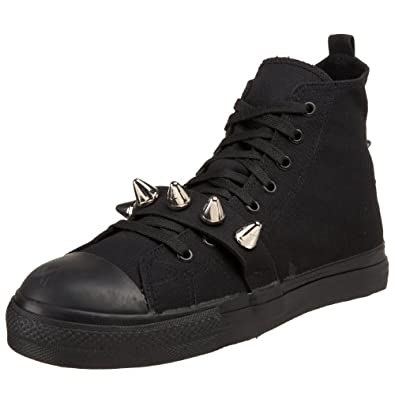 TYRANT-104, Canvas High Top Steel Toe Spiked Sneaker Shoe(4)