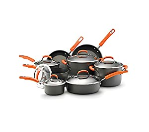 Rachael Ray Hard Anodized II Nonstick 12-Piece Set